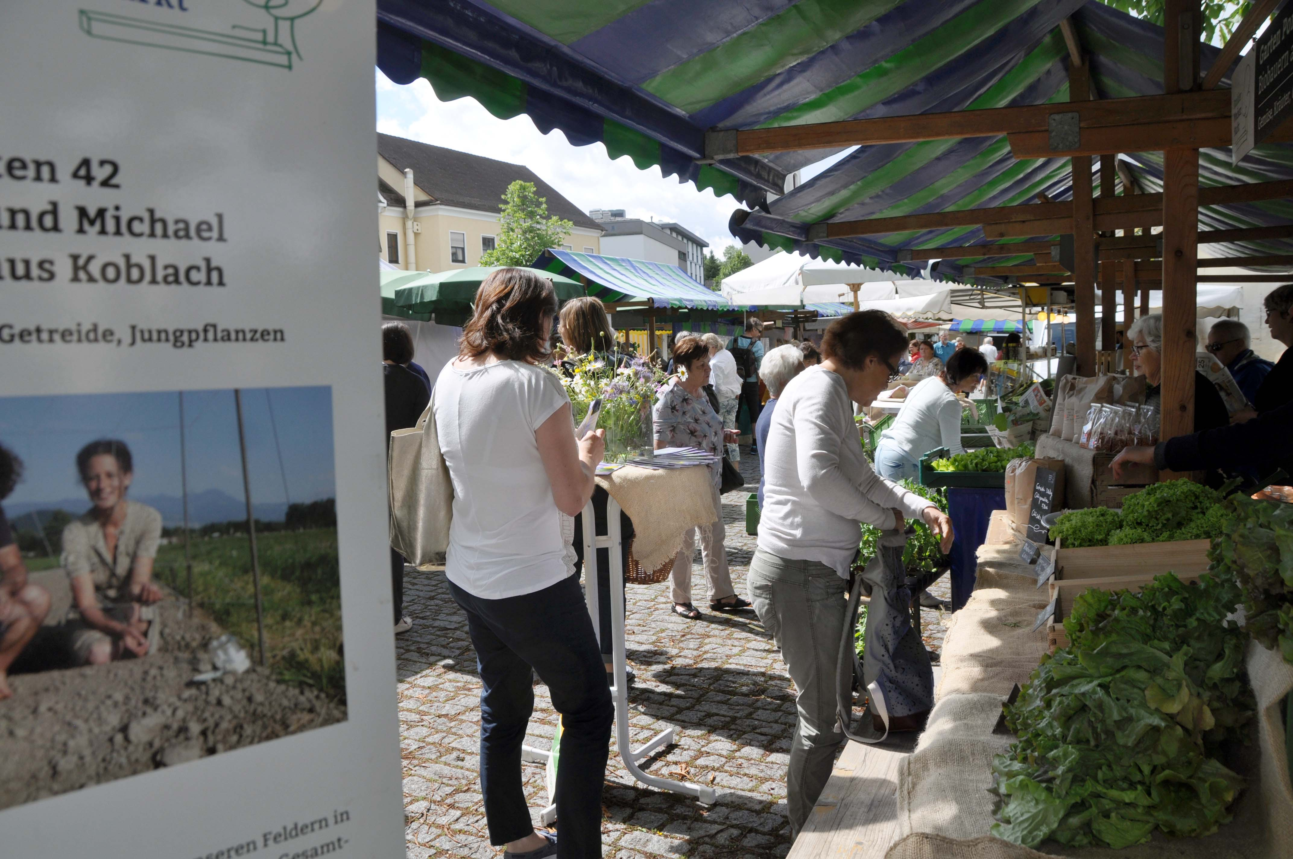 Das Marktfest am Rankler Wochenmarkt war gut besucht.