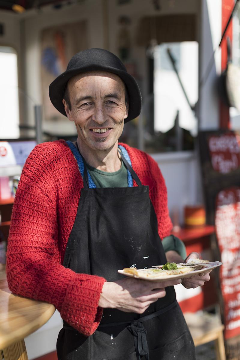 Der gebürtige Franzose hat sein Hobby zum Beruf gemacht. ©Darko Todorovic