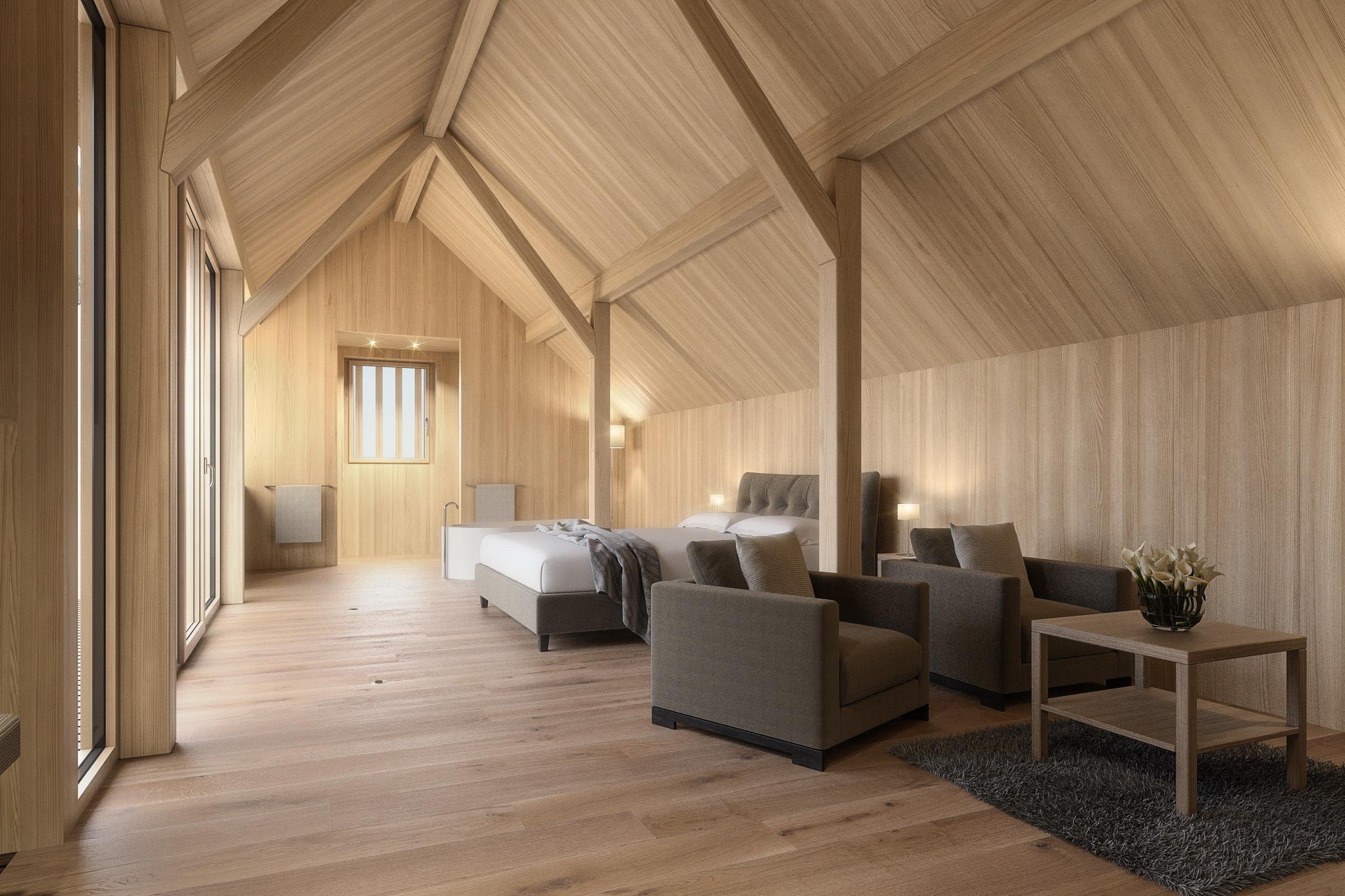 Die neue Mohren-Suite mit herrlichem Ausblick. © GH Mohren