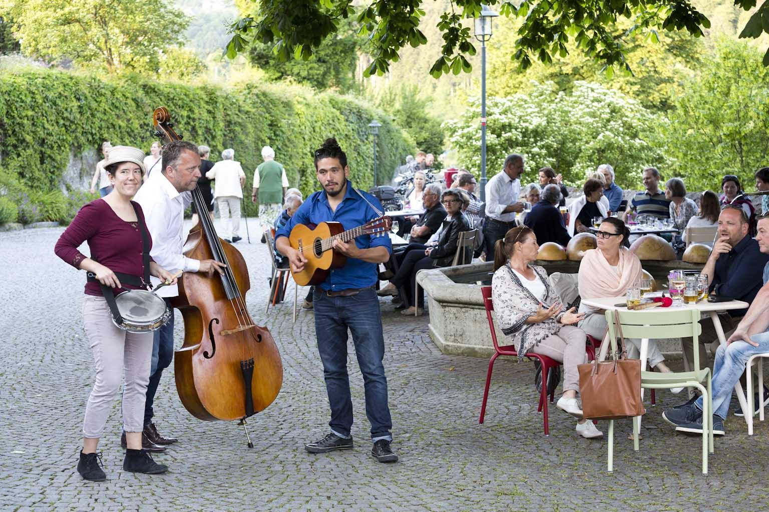 Jazz am Kirchplatz © Dietmar Mathis